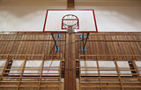 Retro indoor hoop