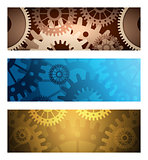 Gears Banners set