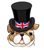 English Bulldog Emblem