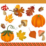 Fall Autumn Clipart Digital