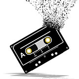 Audio cassette-Music