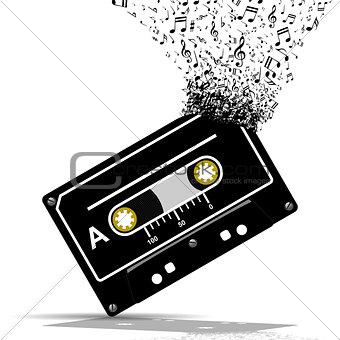 Audio cassette-Music