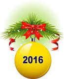 Christmas ball 2016