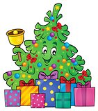 Christmas tree and gifts theme image 3