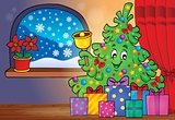 Christmas tree and gifts theme image 4
