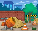 Construction site theme image 1