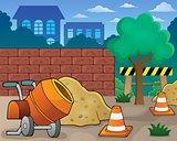 Construction site theme image 1