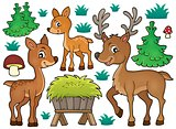 Deer theme collection 1