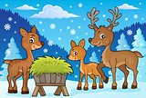 Deer theme image 1