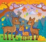 Deer theme image 2