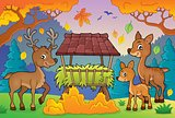 Deer theme image 3