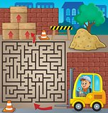 Maze 3 with fork lift truck theme