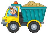 Sand truck theme image 1