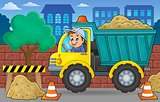 Sand truck theme image 2