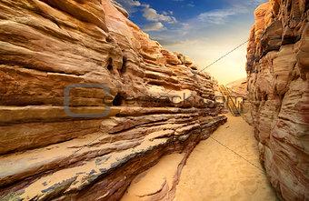 Canyon in Sinai