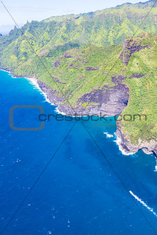 aerial view at kauai