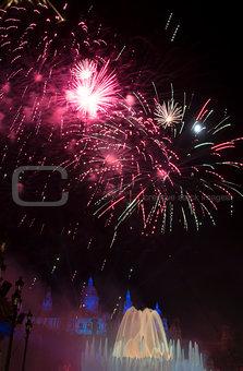 Fireworks at La Merce