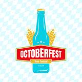Oktoberfest label
