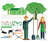 Gardeners and gardener