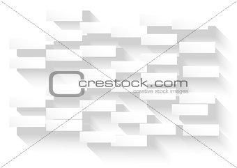 Abstract white background with glowing rectangles for your busin