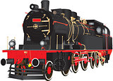 Steam Freight Locomotive