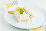 Mango Sticky Rice Crepes