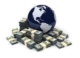 Global Business Dollar Currency
