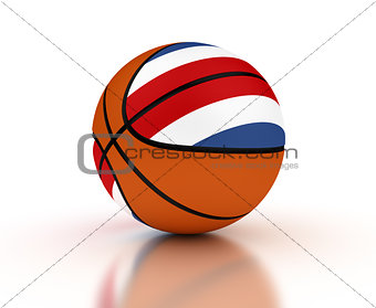 Costa Rican Basketball Team