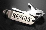 Result Concept. Keys with Keyring.