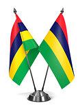 Mauritius - Miniature Flags.