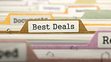 Folder in Catalog Marked as Best Deals.