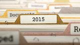 2015 on Business Folder in Catalog.