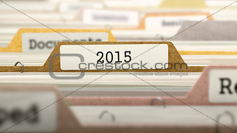 2015 on Business Folder in Catalog.