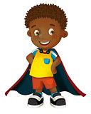 Cartoon character - halloween boy