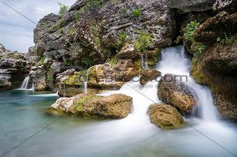 Waterfall of Cijevna river