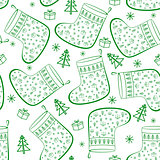 Christmas Stockings, Seamless