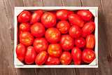 Red tomatoes box