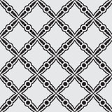 Black seamless pattern