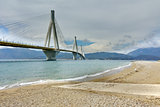 The cable bridge between Rio and Antirrio