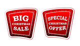 big christmas sale and special christmas offer on retro red bann
