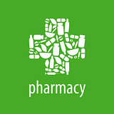 vector logo for pharmacy cross