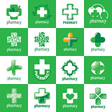 biggest collection of vector logos for medicine