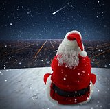 Christmas falling star