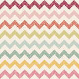 vector Seamless chevron pattern on grunge background.