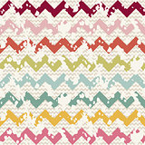 Vector Abstract Retro Geometric seamless pattern