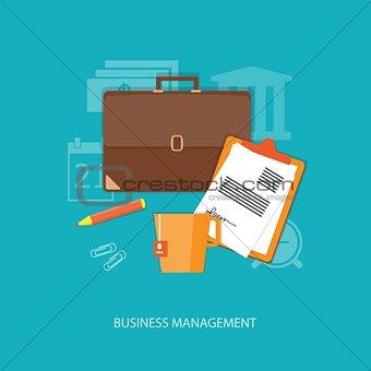 flat  business elements