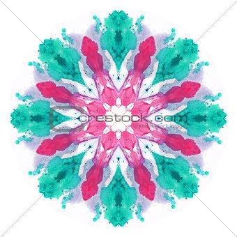 Watercolor flower