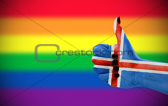 Positive attitude of Iceland for LGBT community