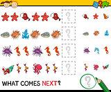 pattern task for preschoolers