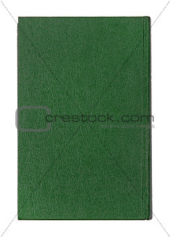 green book cover isolated on white background